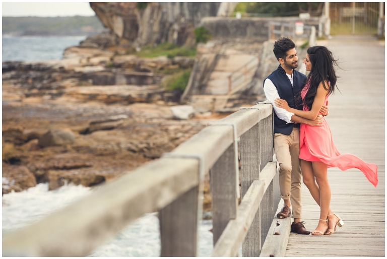 Pre Wedding Photoshoot in La Perouse, Sydney