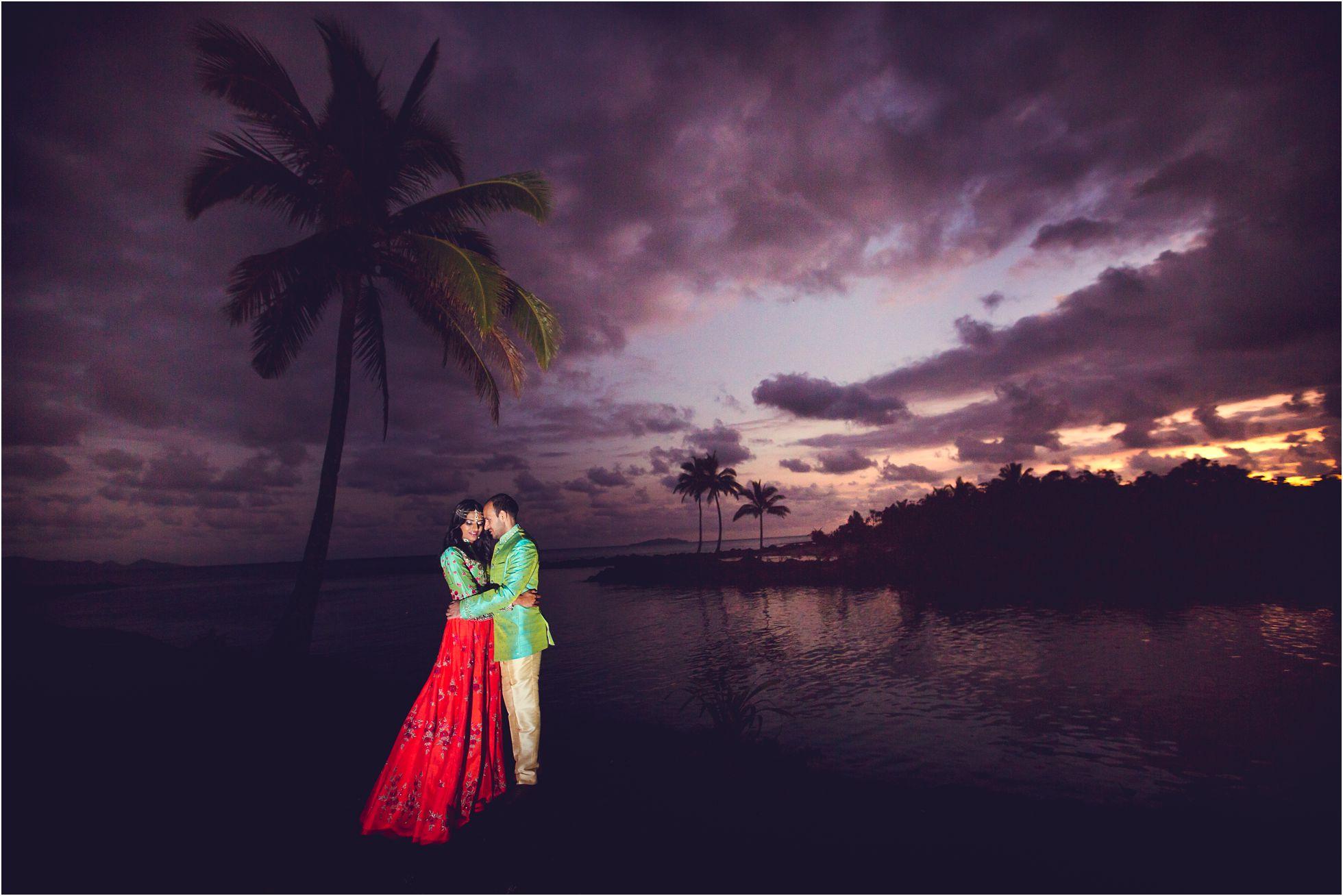 Destination Wedding Photoshoot in Fiji